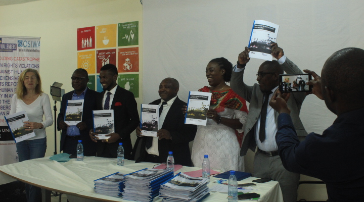 War crimes and crimes against Humanity in Cameroon, CHRDA Relaunched its Human Rights Report amid 2019 Human Rights Day Commemoration