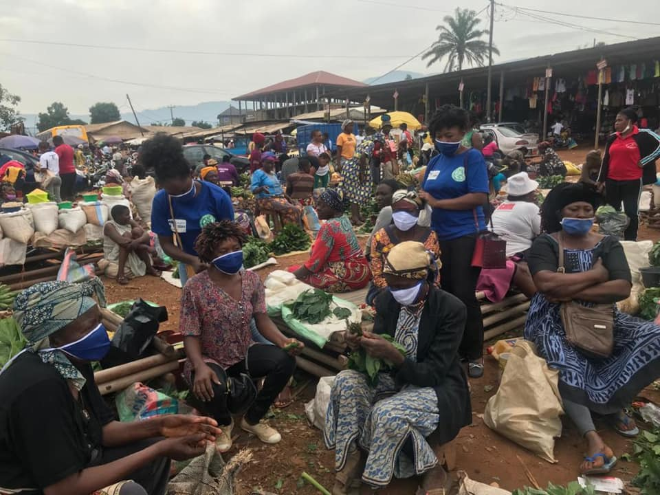 CHRDA distributes over 500 reusable facemasks in Bamenda-Cameroon, fight against the spread ofCOVID-19