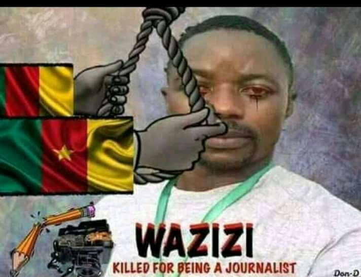 Justice for Samuel Wazizi, a Cameroonian journalist who died while indetention