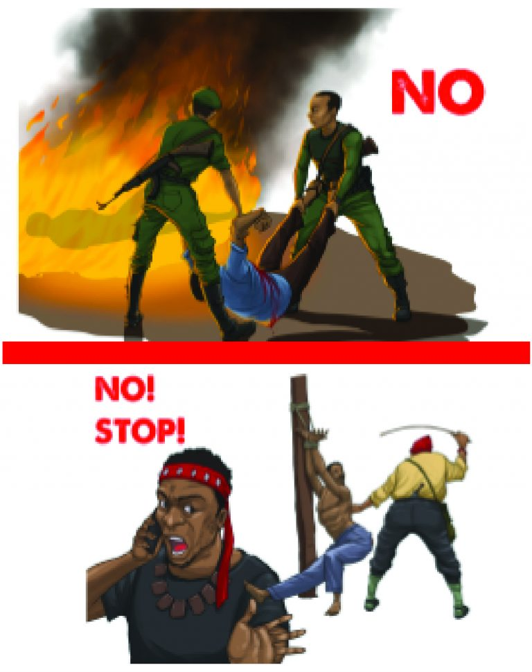 """Watch """"CHRDA's Pidgin-English Version of the guide on the improper use of force in conflict"""" onYouTube"""